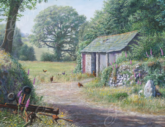 Digory's shed